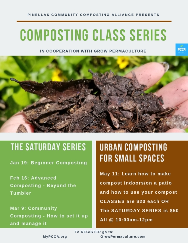 grow permaculture class flyer